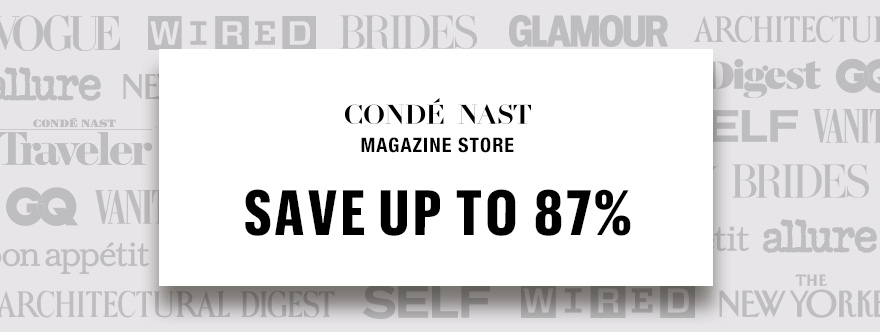 Conde Nast Magazine Subscription